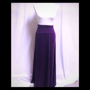 Mossimo maxi skirt purple plum XL